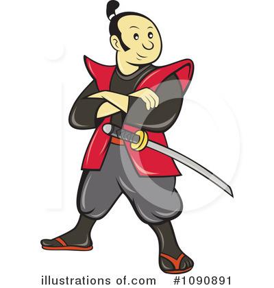 Samurai Clipart 1090891 Illustration By -Samurai Clipart 1090891 Illustration By Patrimonio-13