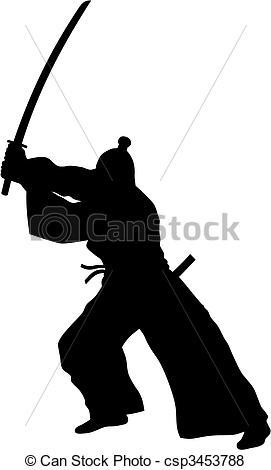 Samurai - csp3453788