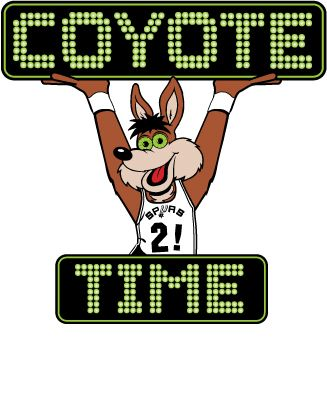 spurs clip art free | Spurs Coyote Art Work Gallery