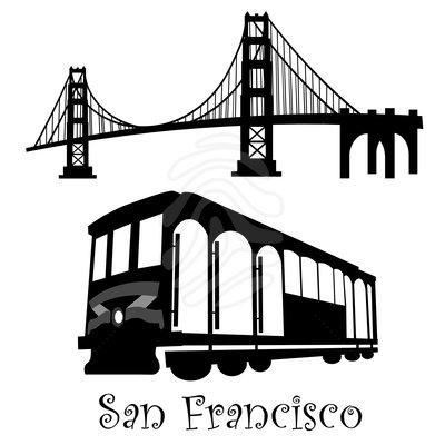 San Francisco Trolley Clipart .-San Francisco Trolley Clipart .-5