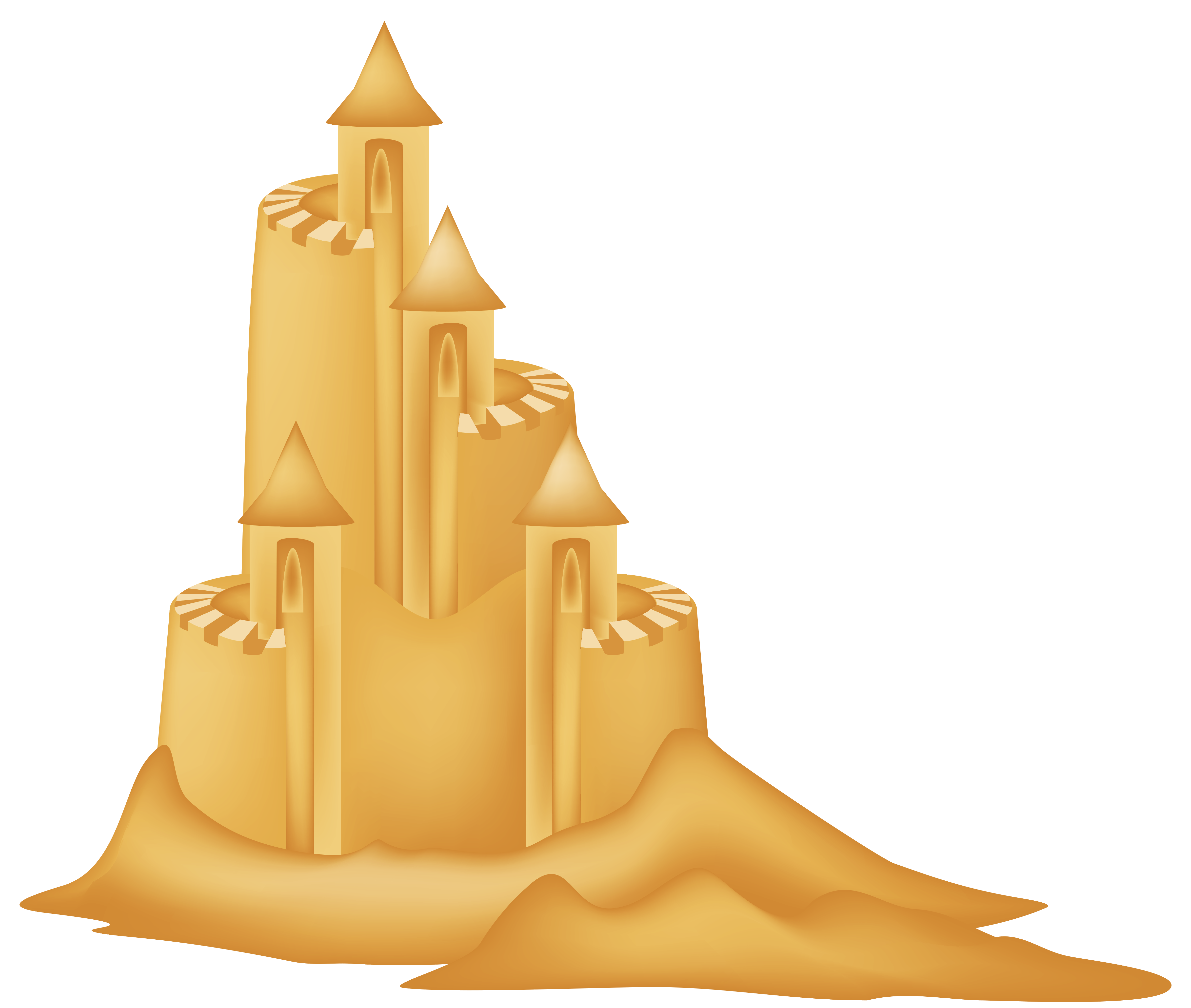 ... Sand Castle Clip Art - clipartall ...