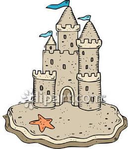 Sand Castle Clipart Sand Castle