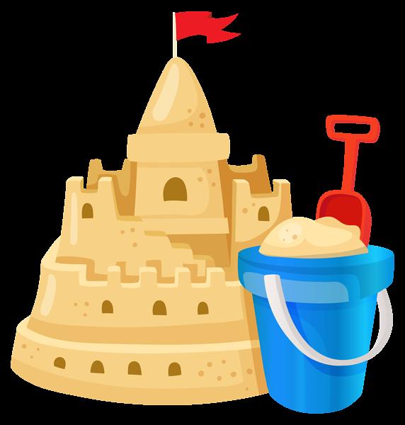 Sand Castle Clipart - Sandcastle Clipart