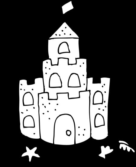 Sand Castle Printable Clipart-Sand castle printable clipart-13