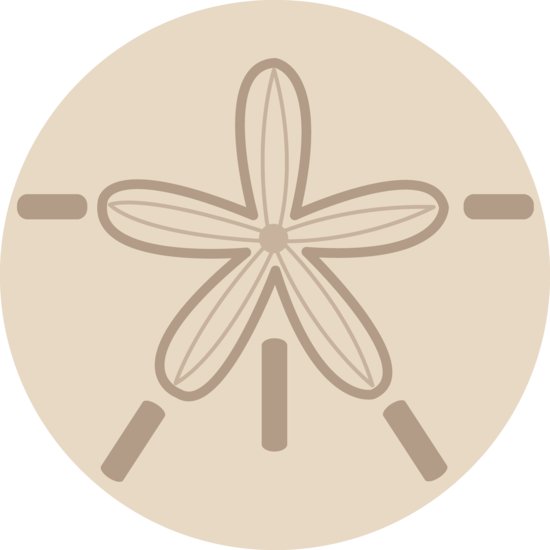 Sand Dollar Shell Design Free Clip Art