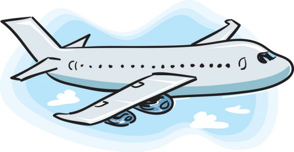 Sand Lake Town Library » Blog Archive » flight-clipart-airplane-clip-art-free-588×305
