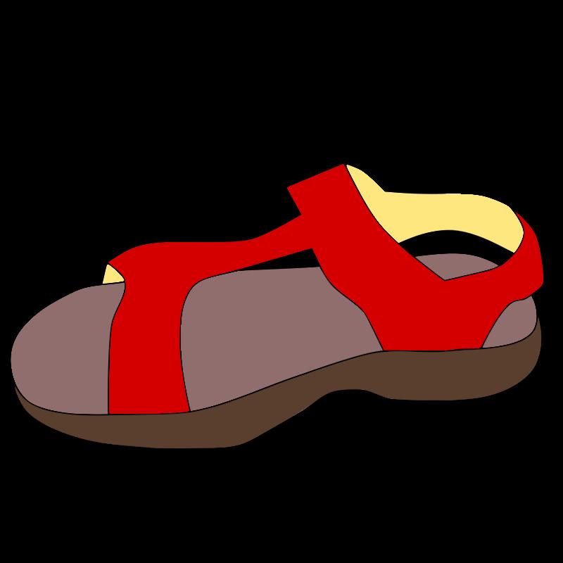 Sandal Clipart-Clipartlook.com-800