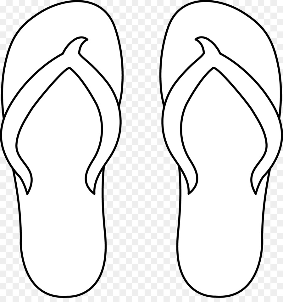 Flip-flops Sandal Free content Clip art - Sandal Path Cliparts