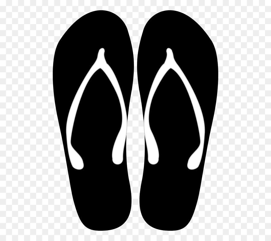 Slipper Flip-flops Clip art - Sandal Path Cliparts