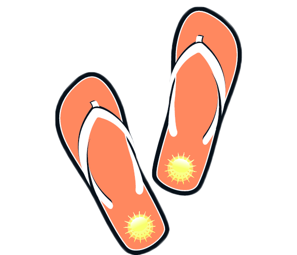 Sandals Clip Art Images Free For Commercial Use