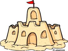 Sandcastle Clipart-sandcastle clipart-16