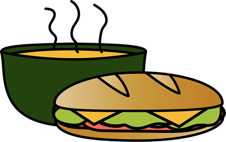 Sandwich and Bowl of Soup