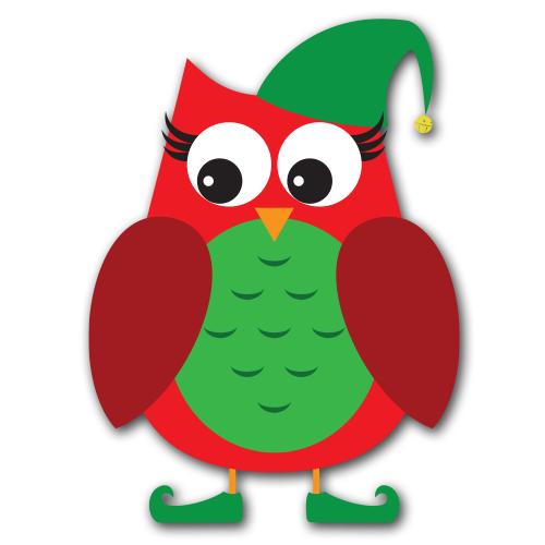 Santau0026#39;s Owls Clip Art SVG. 2c59d21ff9fb1db0a39ffca0408fb7 .