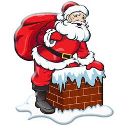Santa And Elves Modern Clipart Christmas-Santa And Elves Modern Clipart Christmasgifts Com-6