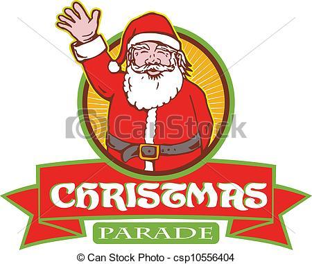 Santa Claus Christmas Parade - csp10556404