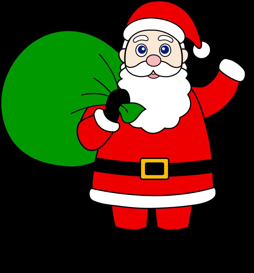 Santa Claus Clipart .