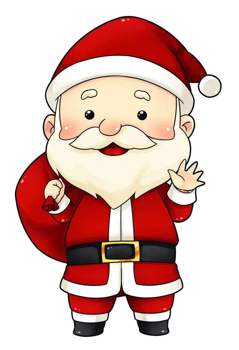 You can use this cute and adorable Santa clip art on whatever project of  yours that requires an image of Santa Claus. Description from  clipartlord clipartlook.com.