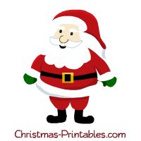 santa clipart for craft projects