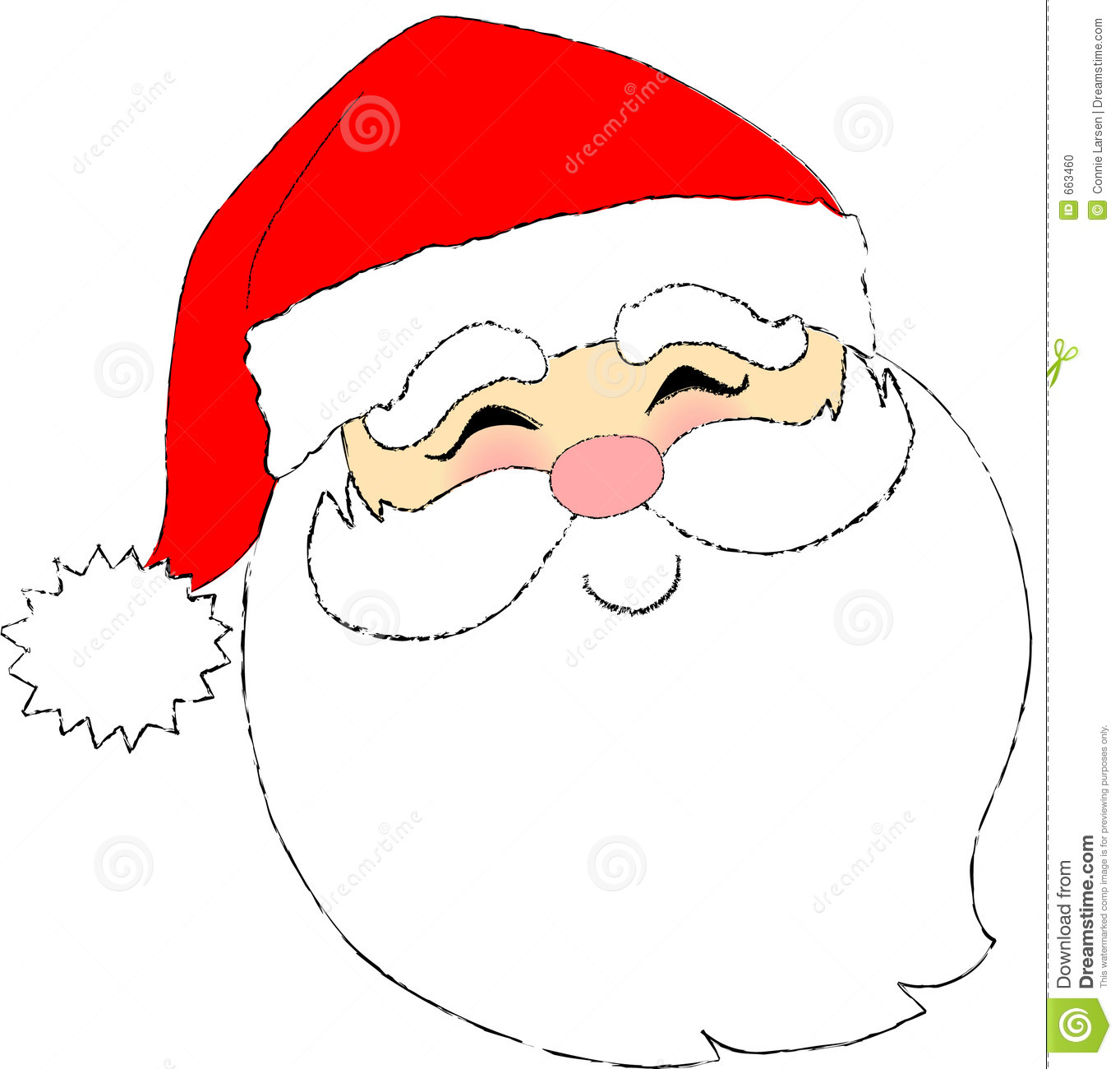 Santa Face Stock Photo - Image: 663460-Santa Face Stock Photo - Image: 663460-7