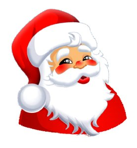 Santa Happy Face - ClipArt .-Santa Happy Face - ClipArt .-13