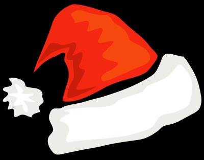 Free Simple Santa Hat Clip Ar