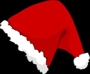 Santa Hat Clipart Outline. 11 - Santa Hat Clip Art