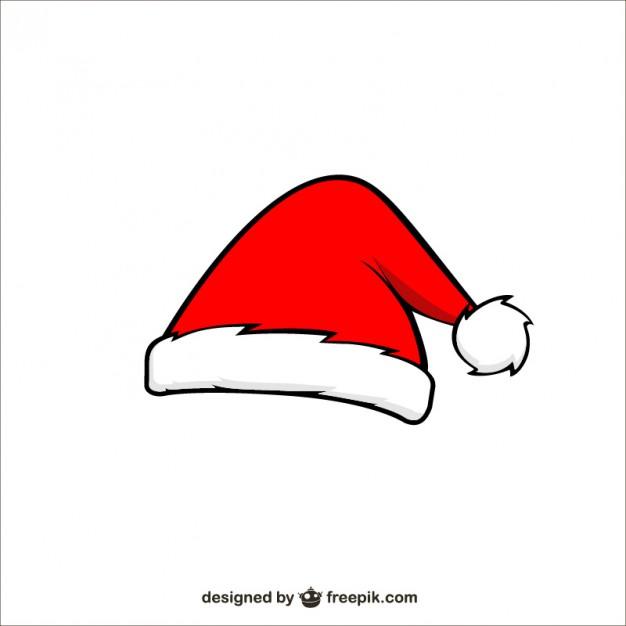 Santa hat santa claus cartoon hat free vector freevectors clip art