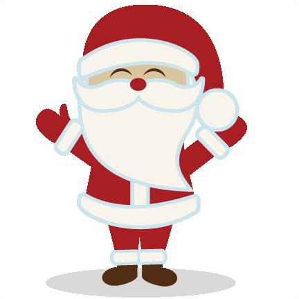 Santa Santa50cents110813 Chri - Cute Santa Clipart
