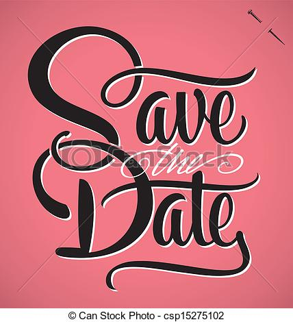 Save Date Clip Art Eps Images 10 219 Clipart Vector