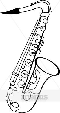 Sax Clipart-Sax Clipart-9