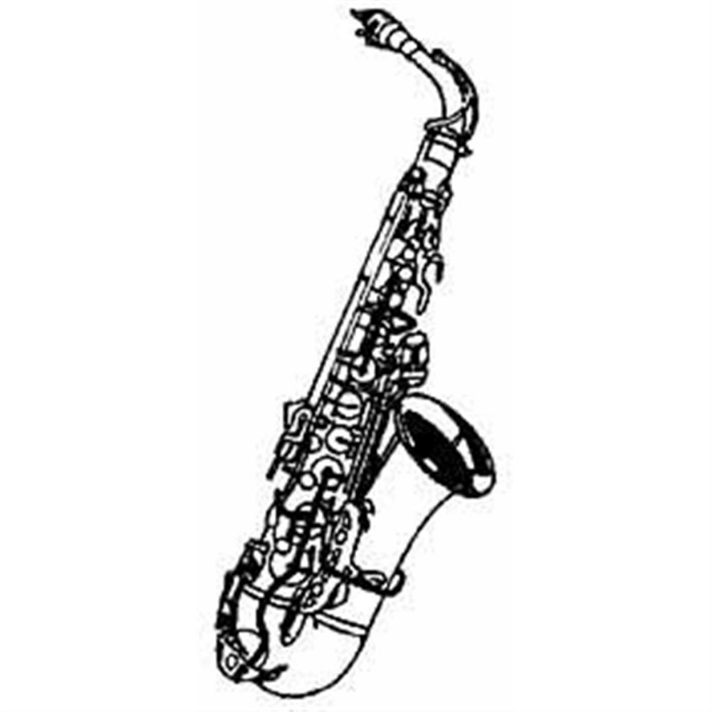 Saxophone Clip Art Free Clipart Images-Saxophone Clip Art Free Clipart Images-12