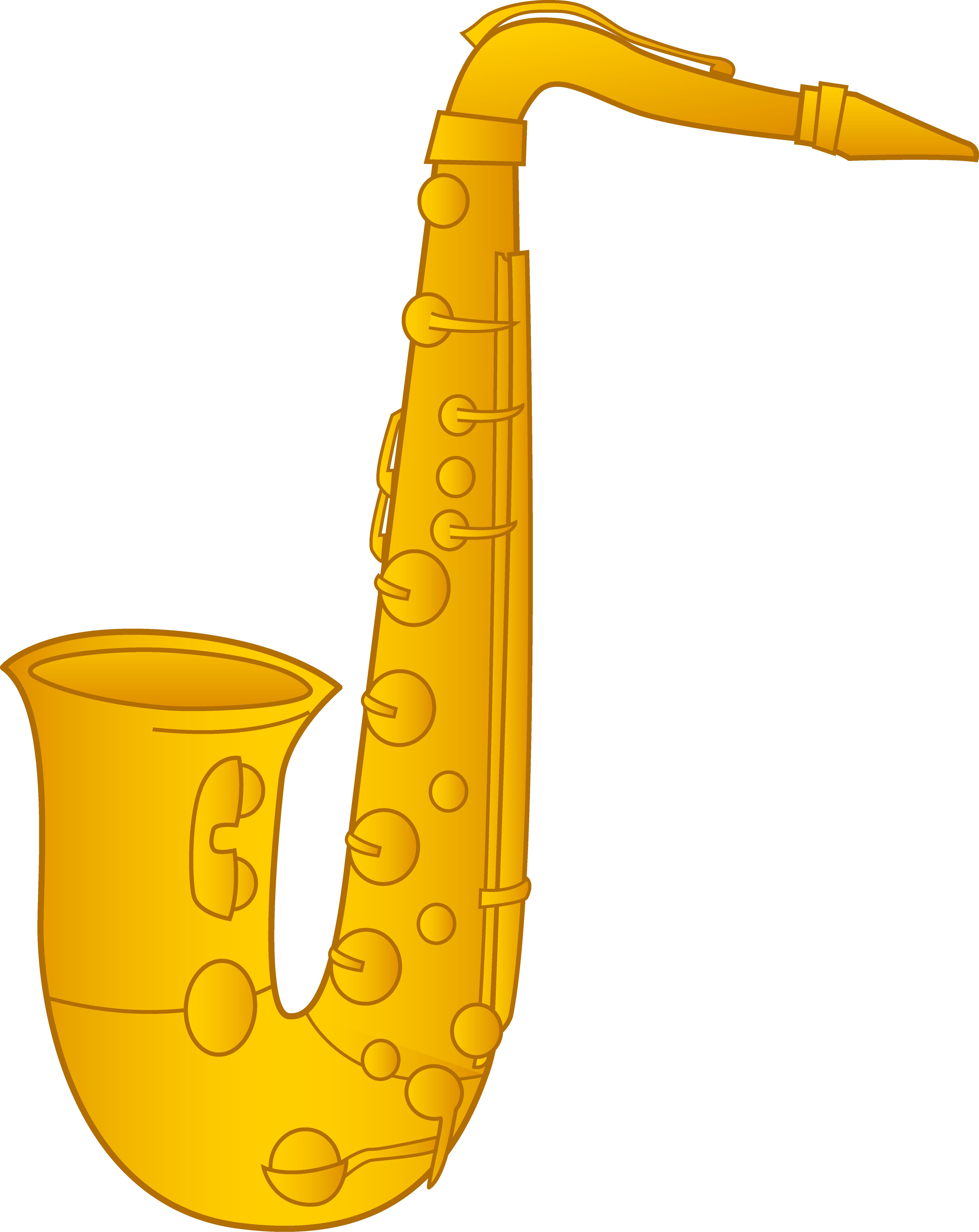 Saxophone Clip Art-Saxophone Clip Art-16