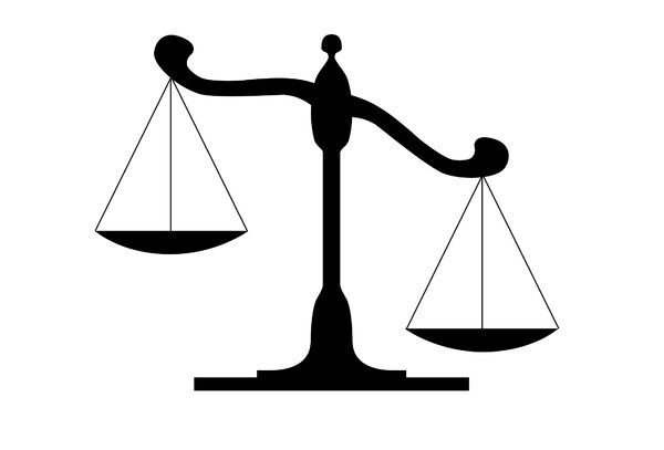Scales Of Justice Clipart - Clipart library