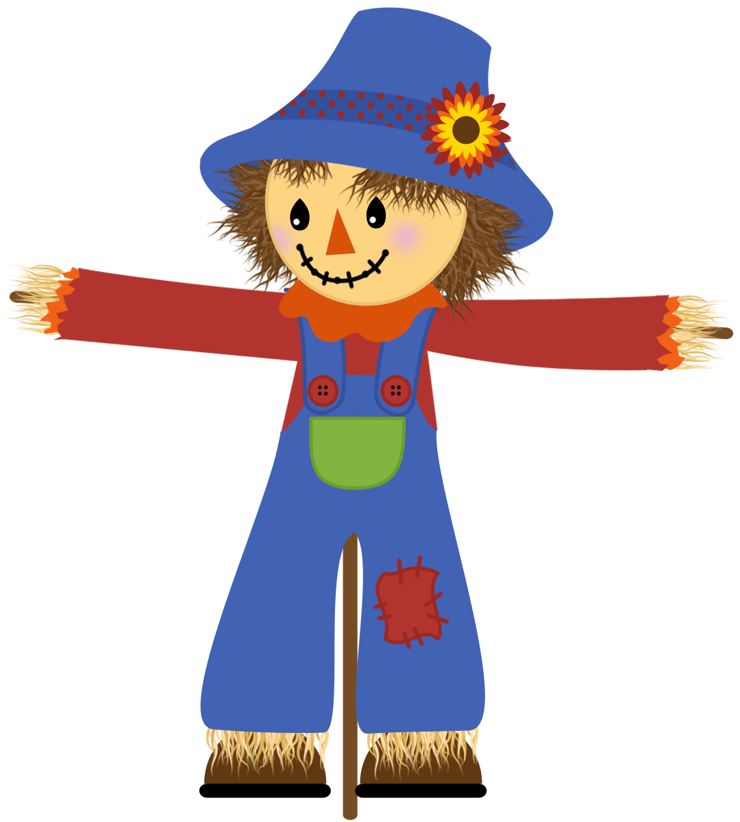 Scarecrow Clipart Free-Scarecrow Clipart Free-8