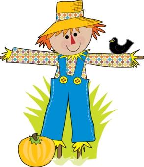 Scarecrow clipart scarecrow clip art image
