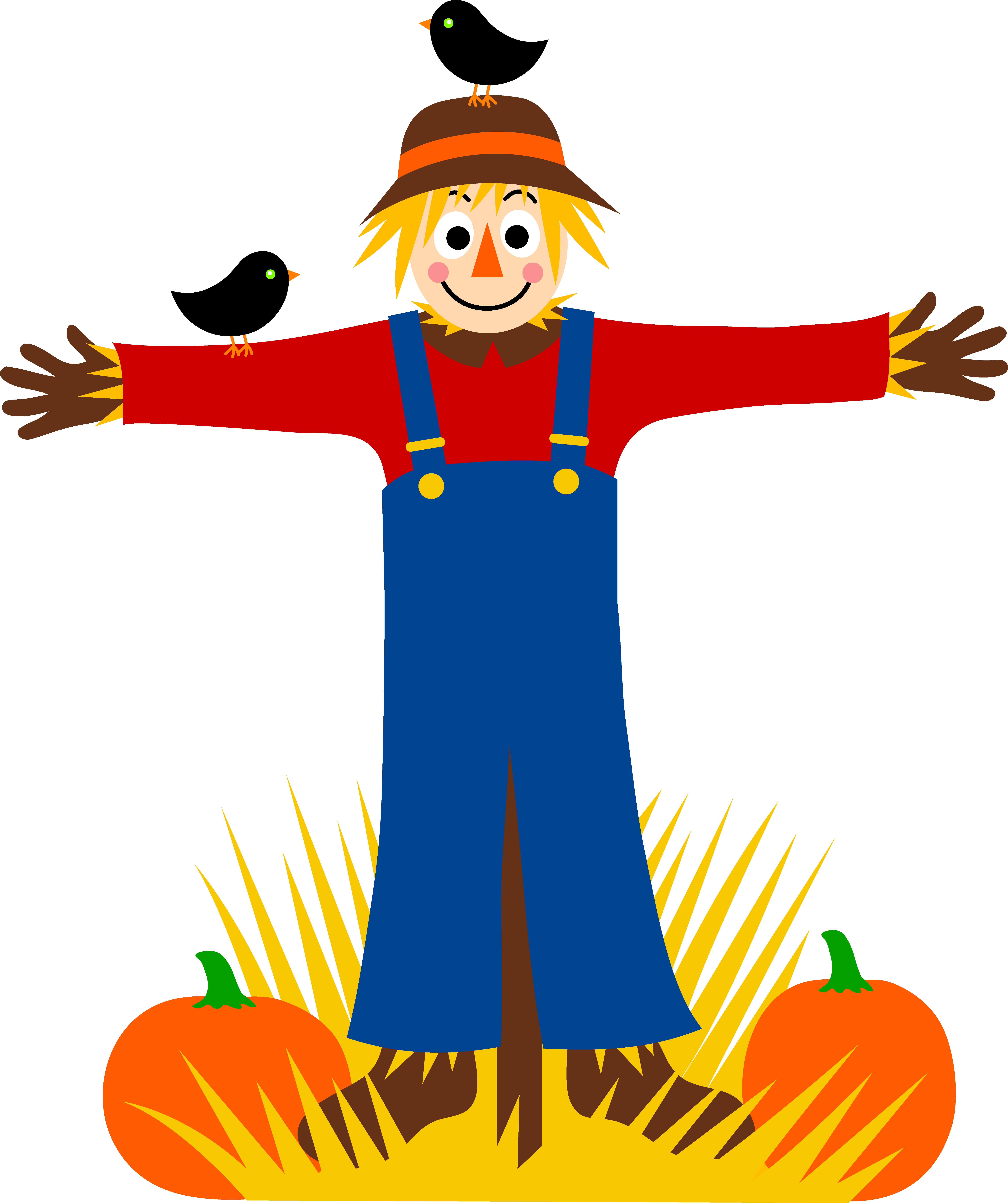 Scarecrow cliparts