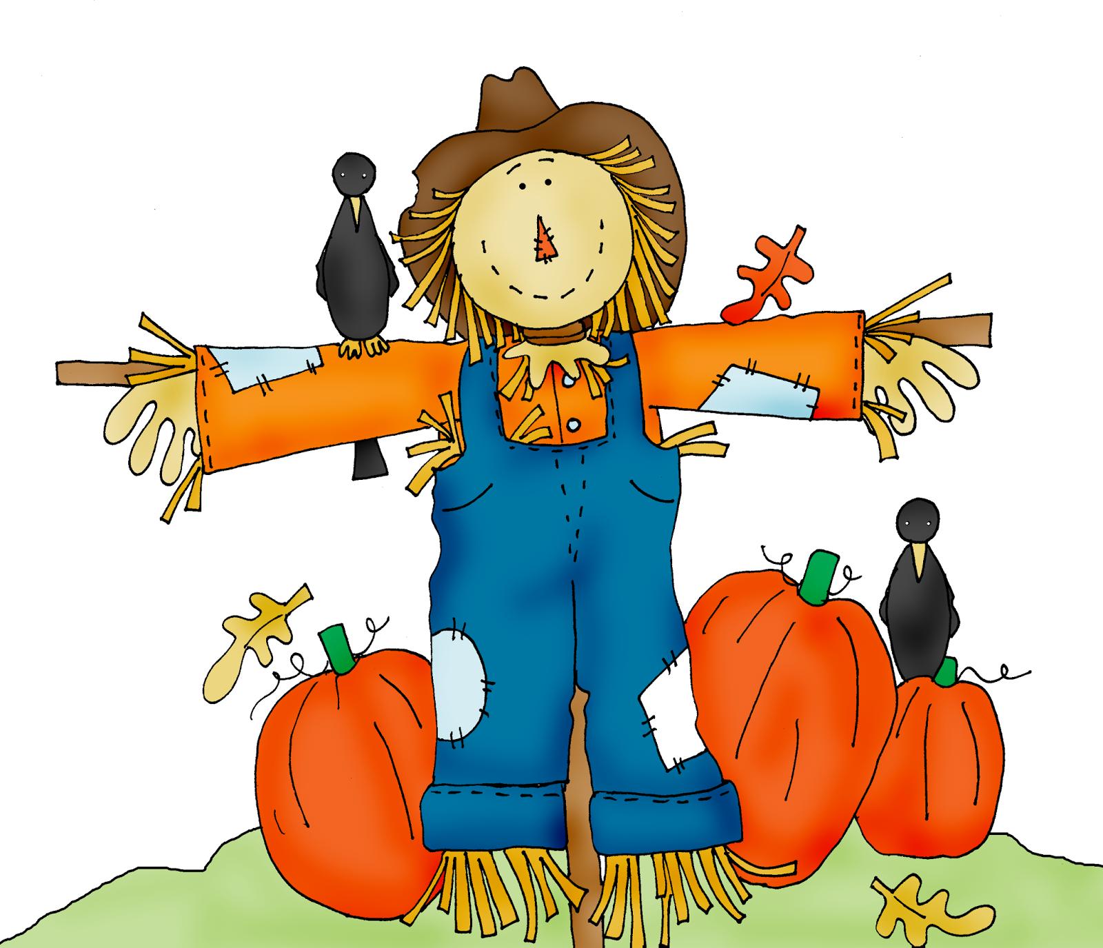 Scarecrow free halloween pumpkin patch c-Scarecrow free halloween pumpkin patch clipart-19