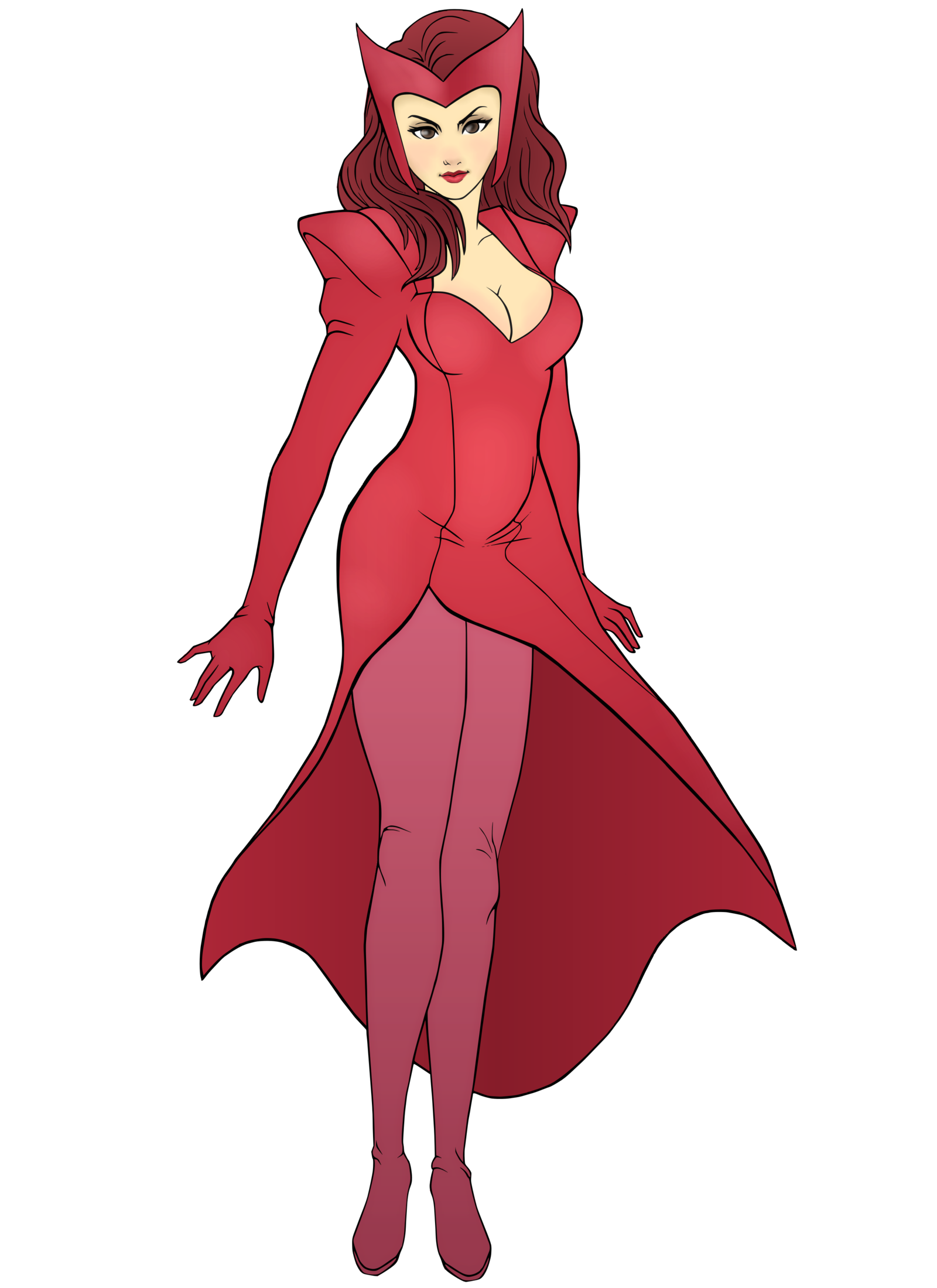 Scarlet Witch Clipart-Clipartlook.com-1600