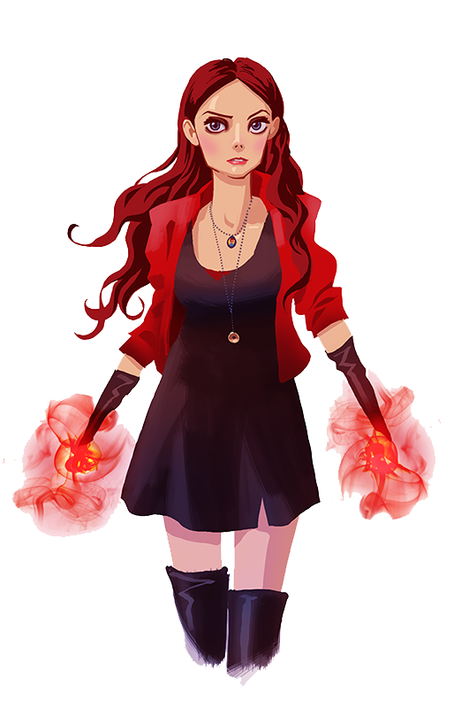 Scarlet Witch Hd PNG Image