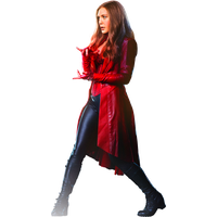 Scarlet Witch Transparent PNG Image