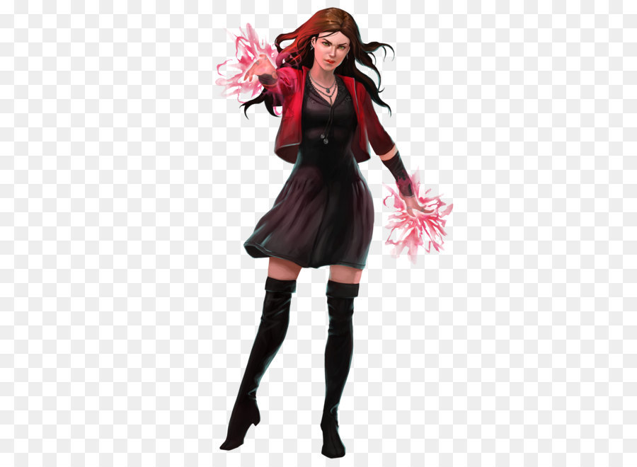Wanda Maximoff Quicksilver Captain America Wundagore Chthon - Scarlet Witch  Png Clipart