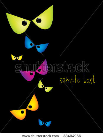 Scary Eyes Clip Art-Scary Eyes Clip Art-11