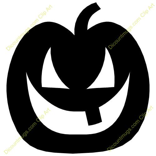 Scary Pumpkin Clipart Scary Clip Art