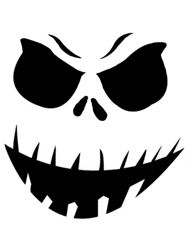 Scary Pumpkin Images Clipart Best