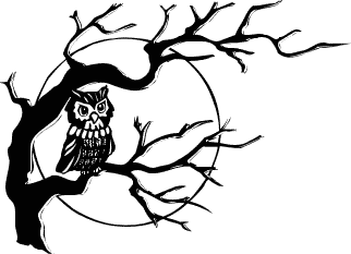 Scary Trees Clip Art - Clipart library