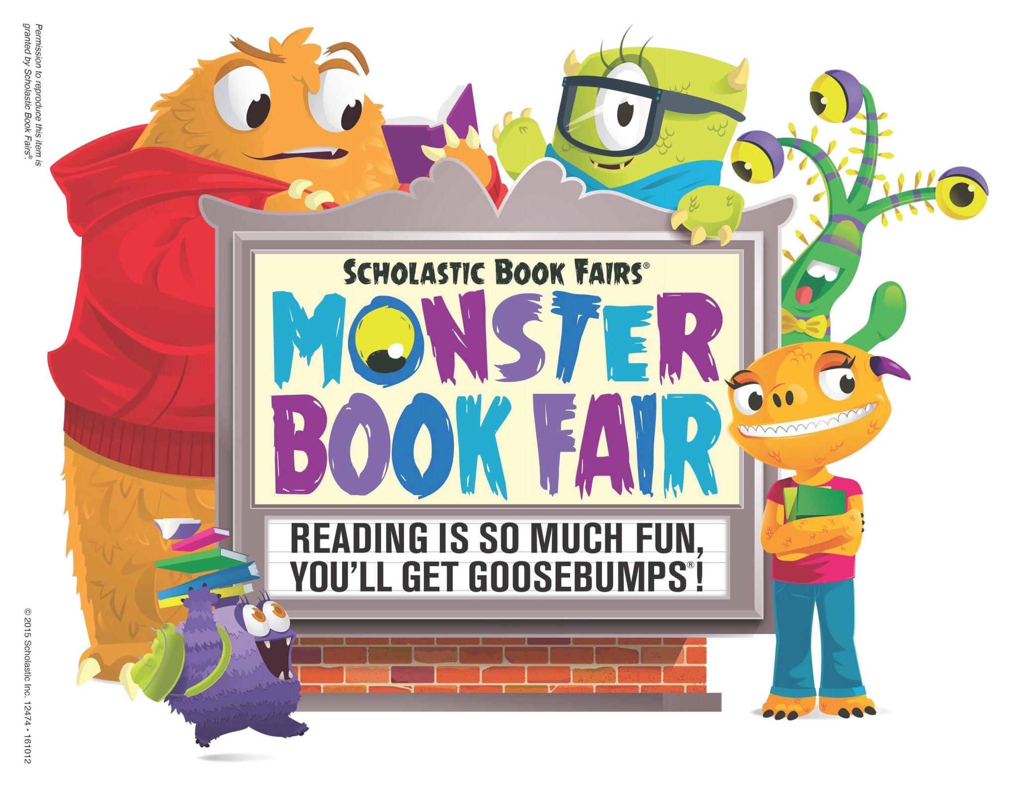 Scholastic Book Fair Clipart. - Book Fair Clip Art