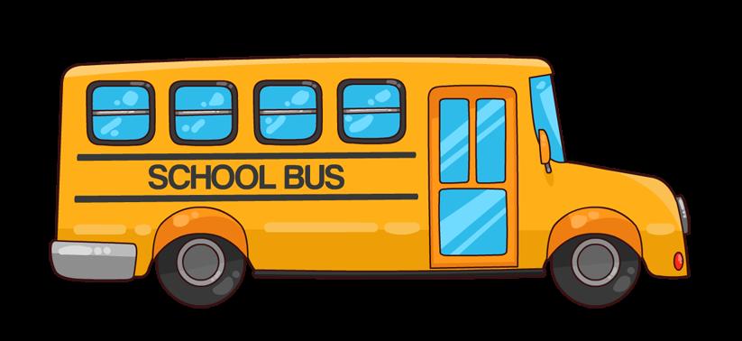 school bus driver clipart