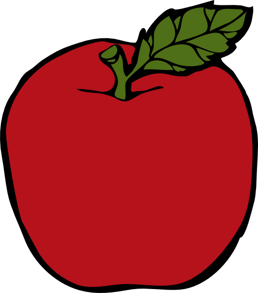 School Apple Clip Art | Clipart library - Free Clipart Images