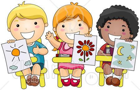 School Art Class Clipart