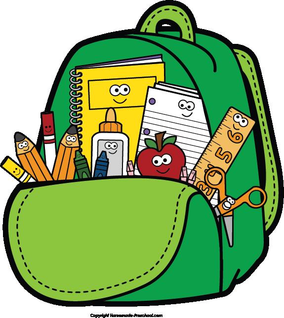 School backpack clip art clipartwiz-School backpack clip art clipartwiz-17